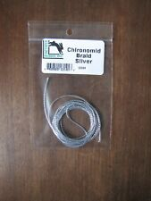 Fly Tying- Hareline Chironomid Braid - Silver