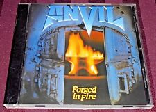 ANVIL - FORGED IN FIRE -10 TRACK CD- (NUMBERED CD 2445) MADE IN FRANCE LIKE NEW