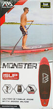 Aqua Marina Monster SUP iSUP Stand up Paddling Board NEU