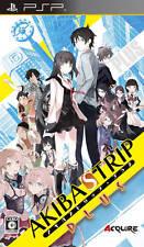Used Sony PSP AKIBA'S TRIP PLUS Japan Import Free Ahipping