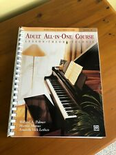 Brand New - Alfred'S Basic Adult Piano Course - Level 1