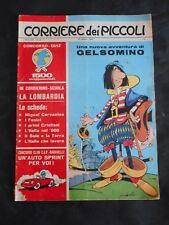 ***CORRIERE DEI PICCOLI N. 43 (1965)*** CON FIGURINE CALCIO DA RITAGLIARE !