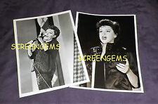 Judy Garland Show original photos CBS-TV 1963 rare singer legend Wizard of Oz