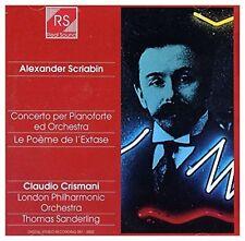 Scriabin Concerto per pianoforte/La poème de l'extase [CD]