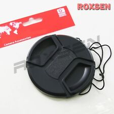 58mm Center Pinch Snap on Front Lens Cap Cover for Nikon Canon Sony DSLR camera