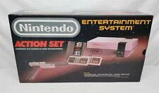 New Listing#1 Vintage 80'S Nintendo Nes Action Set In Stunning Box - Tested & Working!