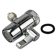 "New Diverter valve for counter top Water Filters Faucet Adapter 1/4"" outlet"