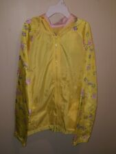 Minions Despicable Me Yellow Windbreaker Raincoat New Tags NWT Evy Size 14-16 XL