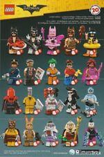 LEGO Minifigure 71017 Série 1 Batman Au Choix - sachets scellés