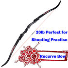 20lb Recurve Bow ILF Limbs Competition Style Bows for Archery Target Shooting