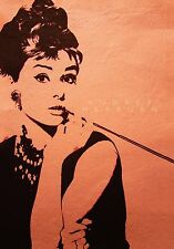 Print Poster  Vintage Movie Film  Audrey Hepburn classic Canvas  Framed