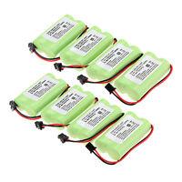 Hot 8×1400mAh 2.4v Home Cordless Phone Battery For Uniden BT-1007 BT1007 BT1015