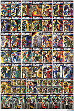 Hasbro 1988-1989 G.I. Joe Carded Poster Print > Storm Shadow > Snake Eyes 🔥😎🔥