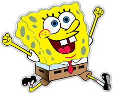 "SpongeBob SquarePants Car Bumper Window Vinyl Sticker Decal 5""X4"""