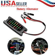 LED 12V Car Battery Load Tester Alternator Battery Analyzer Auto Diagnostic Tool