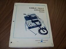 HP 4904 Cable & Fault Locator Operation manual