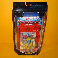 2000 MATTEL motu he-man commemorative series evil-lyn figure moc cardées ltd ed