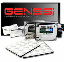 GENSSI White 9006 HID Conversion Kit 5000K Xenon Headlight Bulb 35W