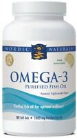 NORDIC NATURALS OMEGA 3 FISH OIL CAPSULES - ALL SIZES - HIGHEST QUALITY