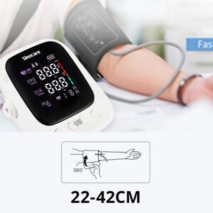 Sinocare Digital Arm Blood Pressure Monitor Voice Heart Meter Rate Pulse Monitor