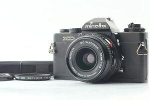 [N MINT]  MINOLTA XD 35mm SLR Film Camera w/ W.Rokkor 35mm f2.8 from JAPAN #0042