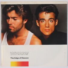 WHAM: The Edge of Heaven USA Orig Columbia 45 w/ PS George Michael NM-