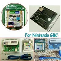 Compatible for GBC Flash Boy Dumper Burner Cartridge 16Mbit 64Kb & USB