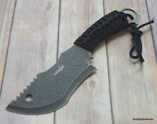 10.5 INCH SURVIVOR BRAND FIXED BLADE TRACKER HUNTING KNIFE WITH NYLON SHEATH