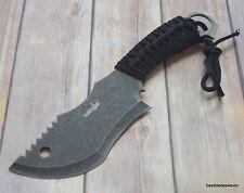 10.5 INCH SURVIVOR BRAND FIXED BLADE TRACKER HUNTING KNIFE WITH NYLON SHEATH