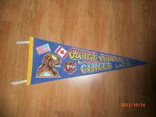 Vintage George Carden International Circus Pennant, Flag, Banner