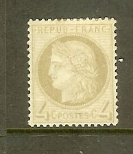 """FRANCE STAMP TIMBRE N° 52a """" CERES 4c GRIS-JAUNATRE """" NEUF x TB"""