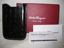 $260 New Box Salvatore Ferragamo Leather Blackberry iPhone Smart Phone Case Pda