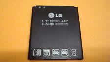 100% Original 3.8v 2100mAh Genuine Battery For LG LG P880 Optimus 4X HD BL-53QH