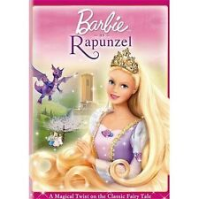 Barbie as Rapunzel (DVD, 2010)