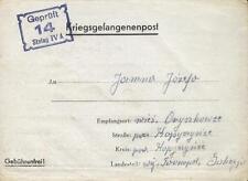 Camp Stalag IVA Hohnstein 1941 POW Prisoner of War Kriegsgefangenenpost (L14)