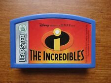 Leap Frog Leapster Disney Pixar THE INCREDIBLES Learning Game