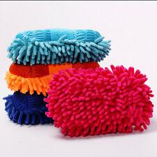 Microfiber Chenille Auto Vehicle Car Care Cleaning Tool Washing Brush Sponge Pad