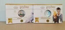2 x 50 Euros Argent Monnaie de Paris Colorisées Harry Potter Hedwige 2021