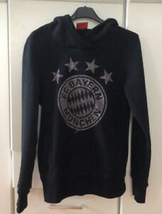 FC Bayern München Hoodie FCB Logo mit Glitzerpartikeln !!NEU!!