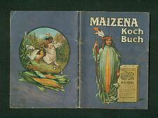 Altes Kochbüchlein Maizena um 1900 Der werten Hausfrau gewidmet Indianer Küche