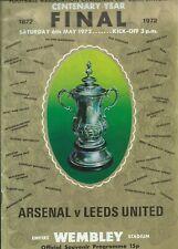 #020 1972 FA CUP FINAL ARSENAL v LEEDS UNITED