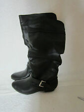 New Women's Mossimo Tall Black Kaylor Boots, Extended Calf- size 6 1/2
