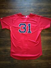 Boston Red Sox/ Athletics/ Cubs Jon Lester Majestic Authentic Jersey Size 48