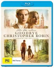 Goodbye Christopher Robin (Blu-ray, 2018) NEW