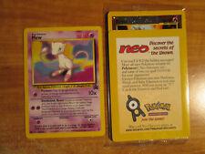 NM/Sealed Pokemon MEW#8+ENTEI#34 Card BLACK STAR PROMO Set Wizards of the Coast