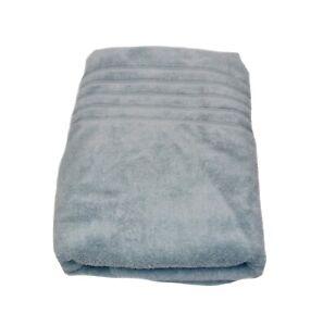 Hotel Collection Bath Sheet BIG Huge Towel Light Blue Large Micro Cotton 33 x 70