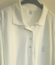 Hübsches Poloshirt von Wallbusch Größe 46 cremefarben