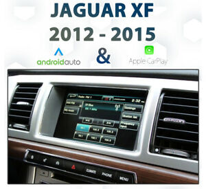 Jaguar XK 2012-15 Factory audio Apple CarPlay & Android Auto Integration pk