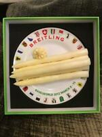 Breitling Baselworld 2012 March 8-15 Invitation White Asparagus on Plate In Box