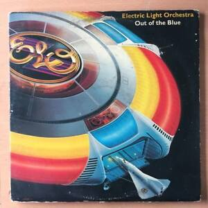 ELECTRIC LIGHT ORCHESTRA ELO Out of The Blue US Press GATEFOLD DOUBLE LP